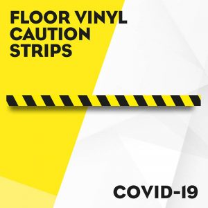 Floor Vinyl Caution Strips