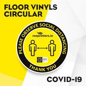 Circular Floor Vinyls